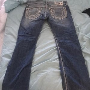 True religion jeans straight size 34